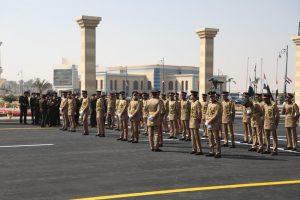 انطلاق الجنازة العسكرية