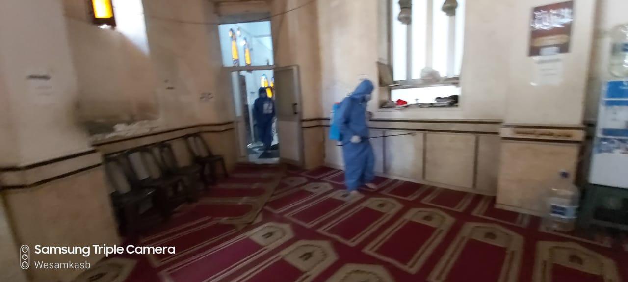 مبادرة لتعقيم المساجد وشوارع الإسكندرية