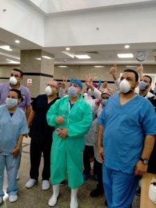 شفاء 3 مصابين بـ كورونا في مستشفى عزل أسيوط