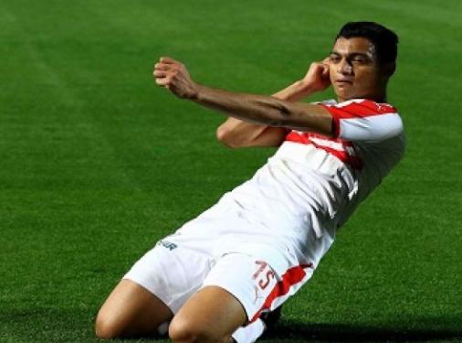 مصطفي محمد لاعب الزمالك