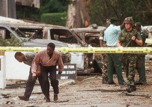 انفجار-في-السفارة-الأمريكية-في-تنزانيا 1988