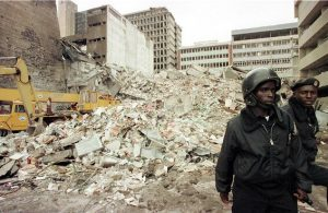انفجار في السفارة الأمريكية في نيروبي عام 1998