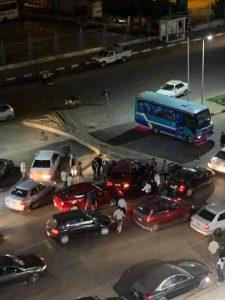 حادث سير بمدينة نصر