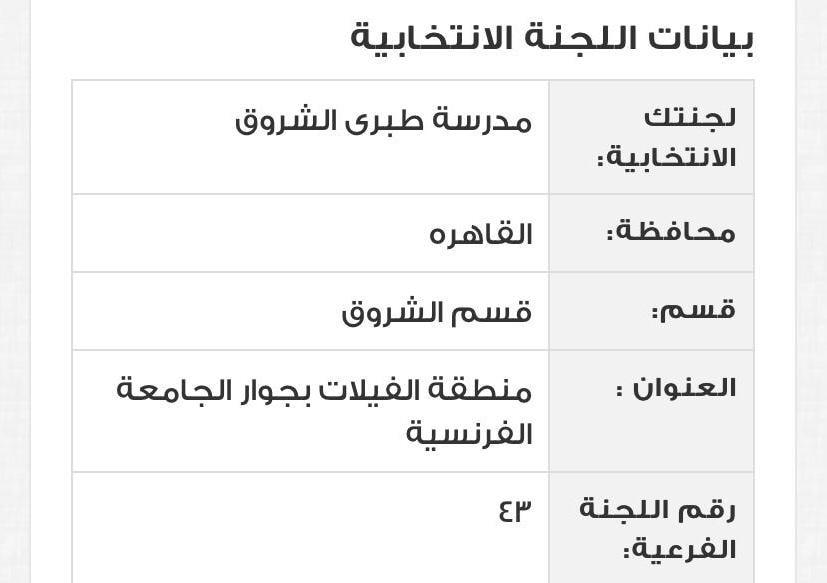 اللجنة الانتخابية لـ أشرف صبحي