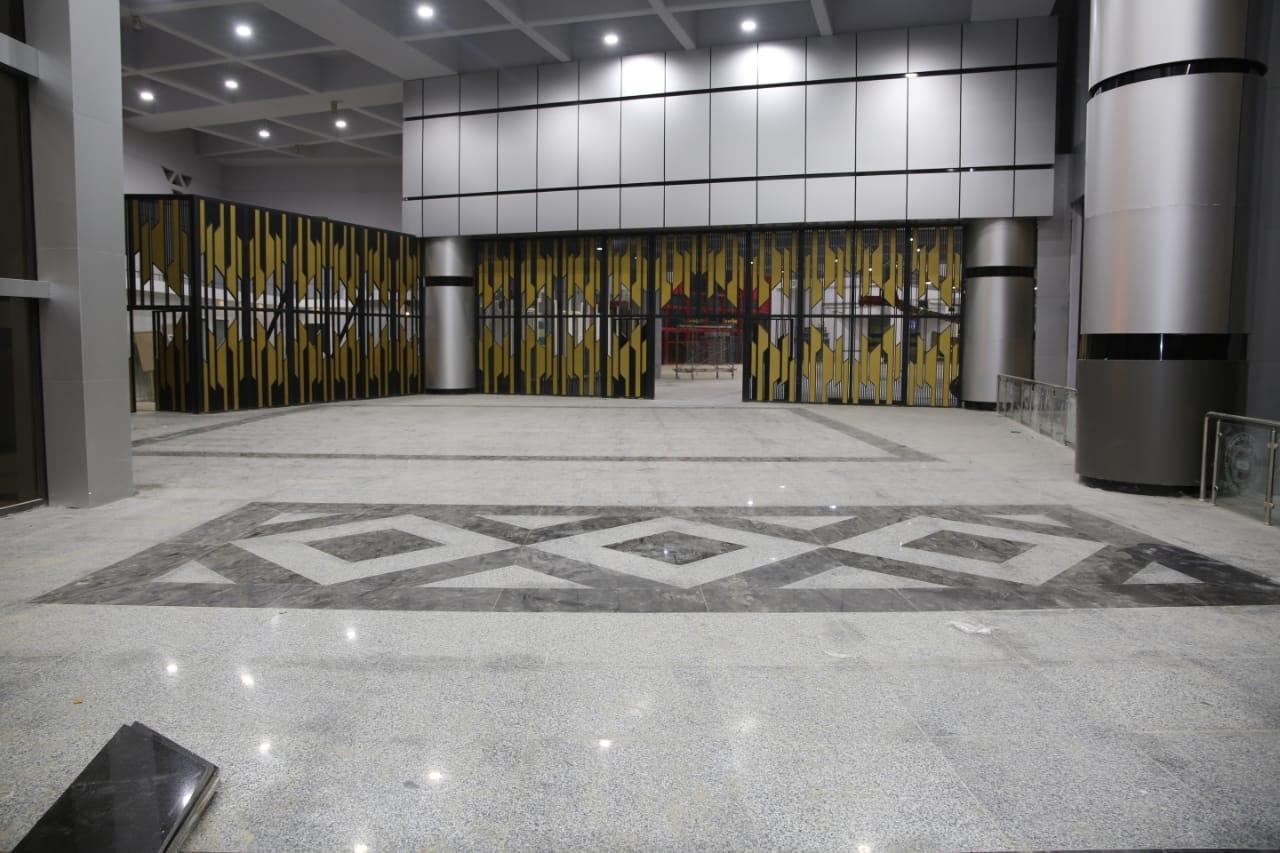 الصالة المغطاة باستاد القاهرة