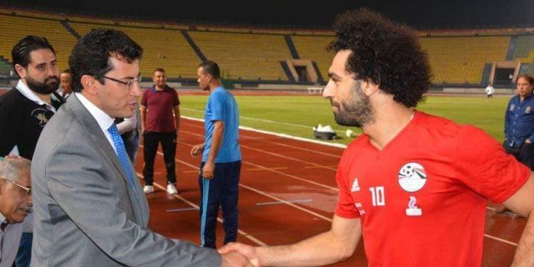 أشرف صبحي ومحمد صلاح