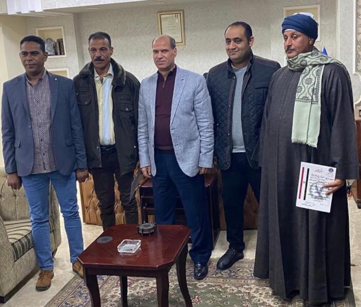 جانب من التكريم لمباحث دار السلام بسوهاج