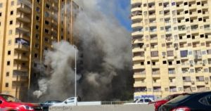 حريق عمارة فيصل