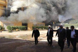 حريق فيصل