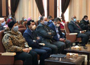 اجتماع وزارة الشباب بمنظمة اليونسيف
