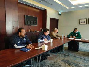 الاجتماع الفني لمباراة بيراميدز والاتحاد الليبي