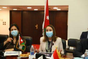 الجانبين الأردني والمصري لتعزيز أطر التعاون بين البلدين الشقيقين