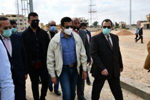 وزير الشباب والرياضة ومحافظ شمال سيناء