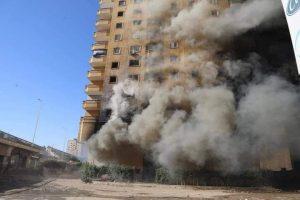 حريق برج فيصل