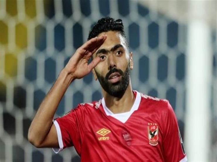 حسين الشحات - لاعب النادي الاهلي