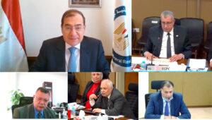 اجتماع وزير البترول