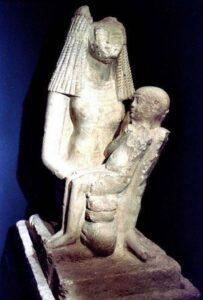 مرضعة الملك توت عنخ أمون