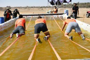 وزير الرياضة يشهد سباق التحدي تاف مادر  Tough Mudder