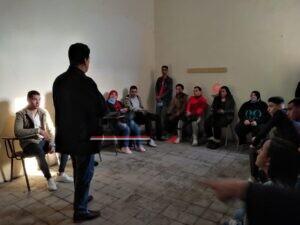 ورشة التمثيل للفنان محمد عبد الحليم وناصر شراقي