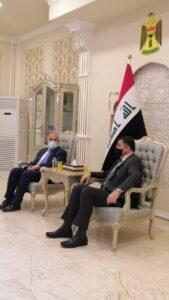 وزير الري يزور العراق