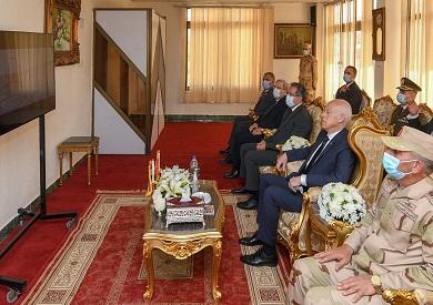 الرئيس قيس سعيد في قناة السويس
