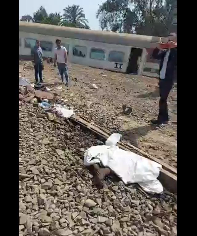 حادث قطار القاهرة المنصورة