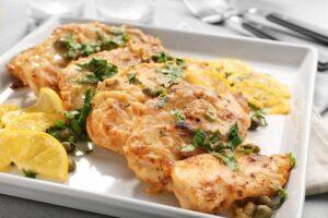 طريقة عمل بيكاتا الدجاج الايطالية