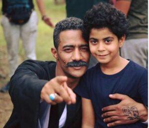 محمد رمضان من نسر الصعيد الأب وابنه (صالح القناوي وزين القناوي)