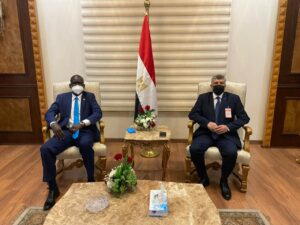 وزارة الشباب تستقبل الوزير الجنوبي السوداني