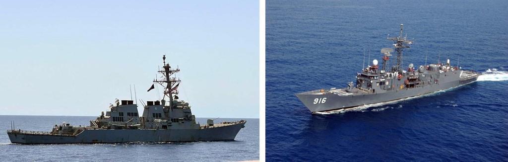 البحرية المصرية والامريكية