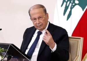 الرئيس اللبنانى ميشال عون
