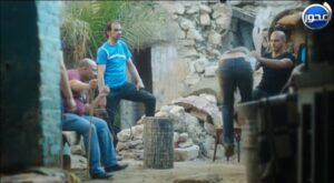 عبده حسني ومحمد فراج من كواليس مسلسل تحت السيطرة