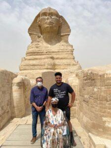 سيدة أمريكية تحلم بزيارة مصر