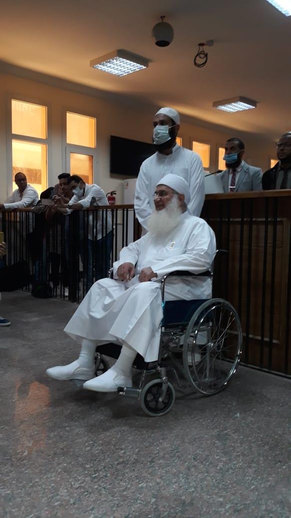 محمد حسين يعقوب أثناء الشهادة