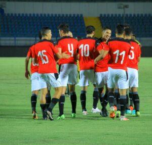 منتخب مصر الأولمبي - تصوير خالد صبري
