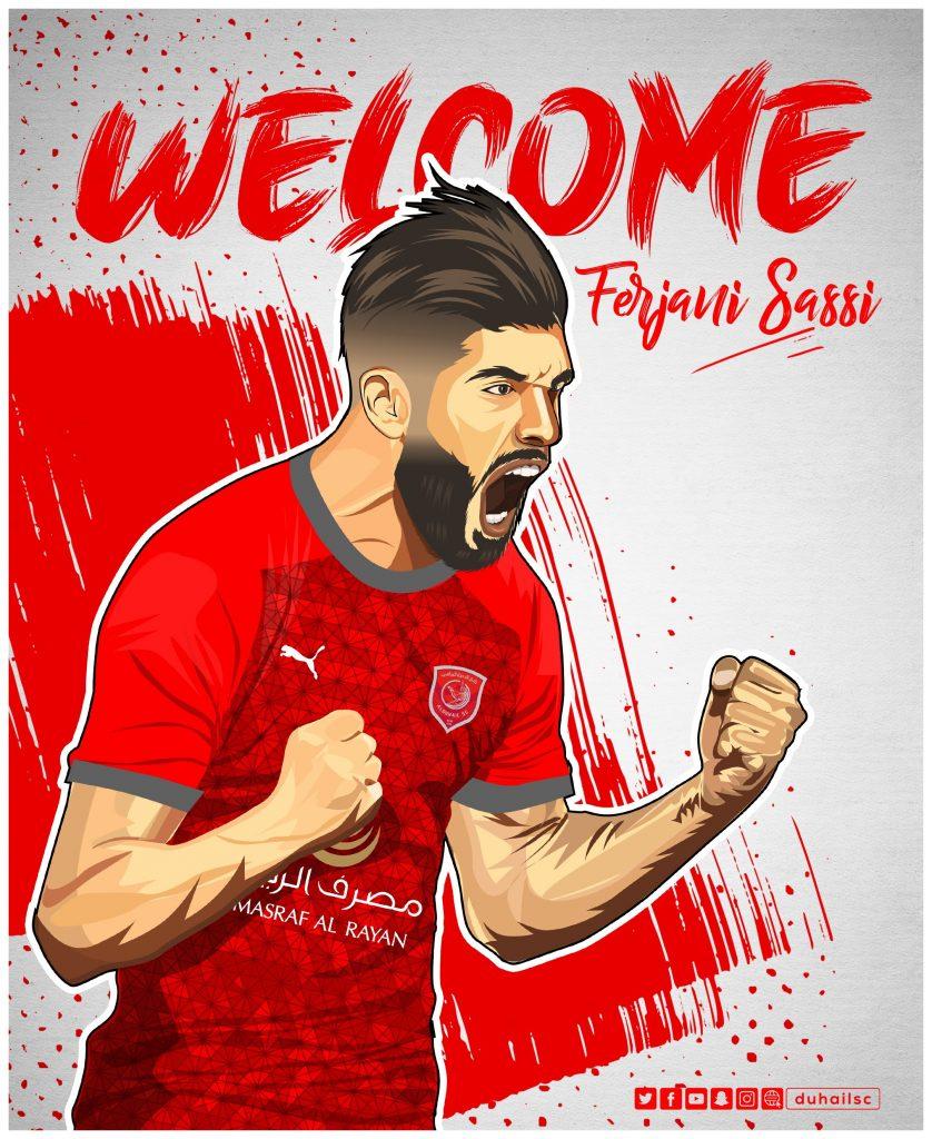 """وأكدت تقارير صحفية قطرية ، على وصول لاعب الزمالك السابق، فرجاني ساسي، إلى العاصمة القطرية """"الدوحة""""، أمس الخميس؛ تمهيدًا لإنضمامه إلى فريق الدحيل خلال فترة الانتقالات الصيفية الحالية."""