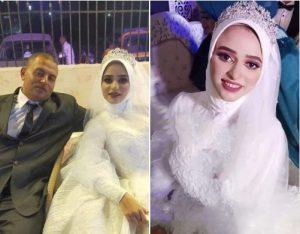 """""""الفرح تحول لجنازة"""" وفاة عروس بعد زفافها بساعة"""