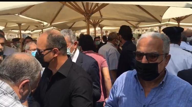 عزاء عم محمد مرجان قبل احتفاليى الأهلي