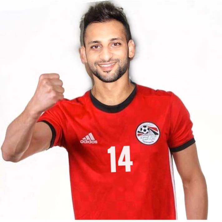 حسام حسن - لاعب منتخب مصر