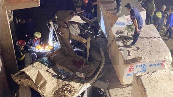 السجن 10 سنوات للمتسببين في حادث قطار حلوان