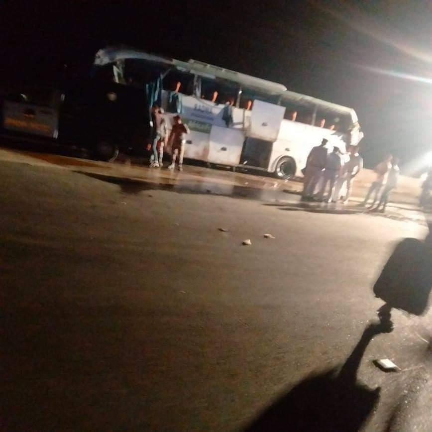 عاجل| مصرع و إصابة 37 في حادث أتوبيس بطريق السويس