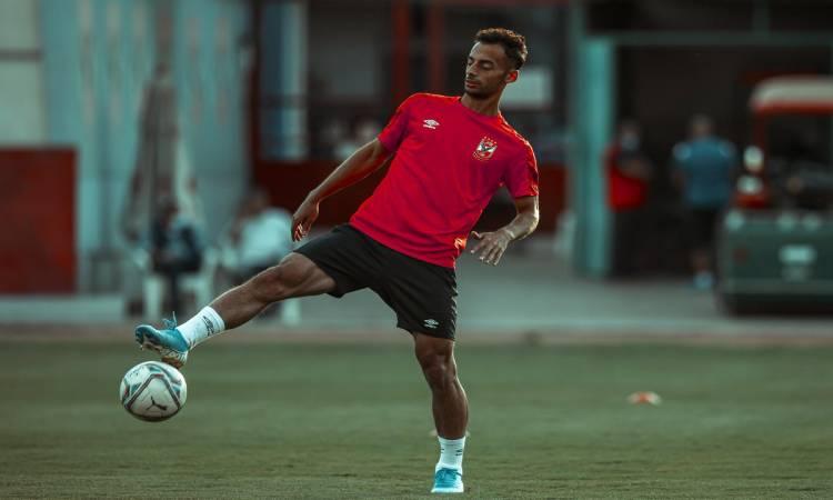 أحمد حمدي عبدالقادر - لاعب النادي الأهلي